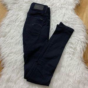 G-Star 3301 CONTOUR SKINNY Stretch Blue Jean 27/32